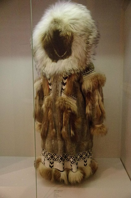 native Alaskan woman's traditional parka - Museum of the North, Fairbanks, Alaska