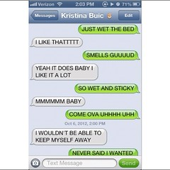 sex on text conversation