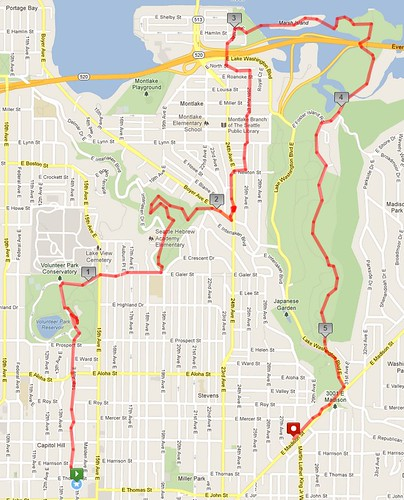 Today's awesome walk, 5.5 miles in 1:41 by christopher575