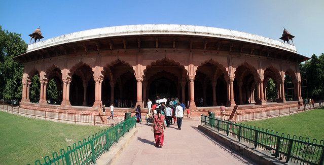 Diwan i aam in red fort by flickr for Diwan i aam images