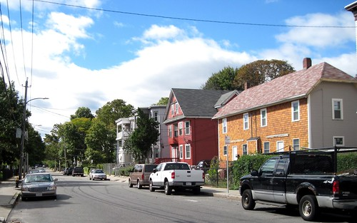 a street in the TNT neighborhood (c2012 FK Benfield)