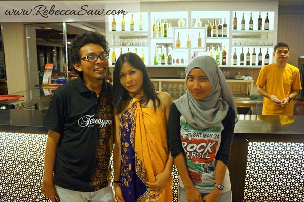rebecca and azizi - taraas beach and spa resort