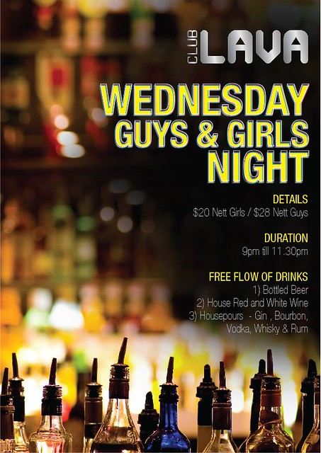 Club Lava Wednesday Guys and Girls Night