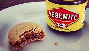 Adriano Zumbo's Vegemite Macaron