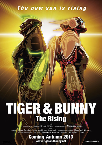 121226(1) - 劇場版《TIGER & BUNNY -The Rising-》推出第一支前導預告片,預定2013年秋天上映!