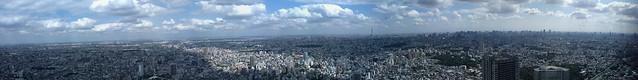 Tokyo Panorama view