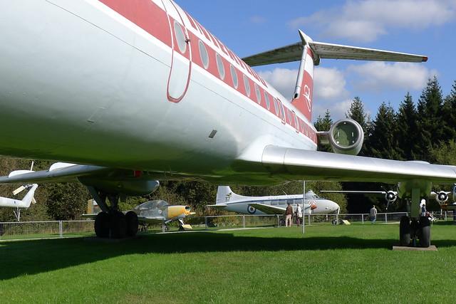 Rumpf: Tupolew Tu-134 A
