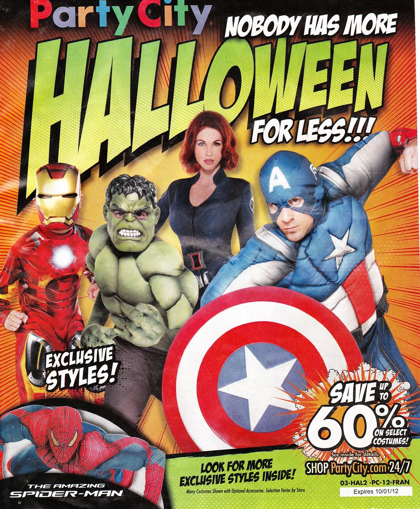 Party City 2012 flyer