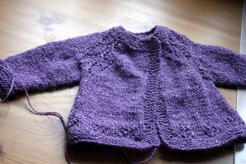 wip wednesday: maile sweater.