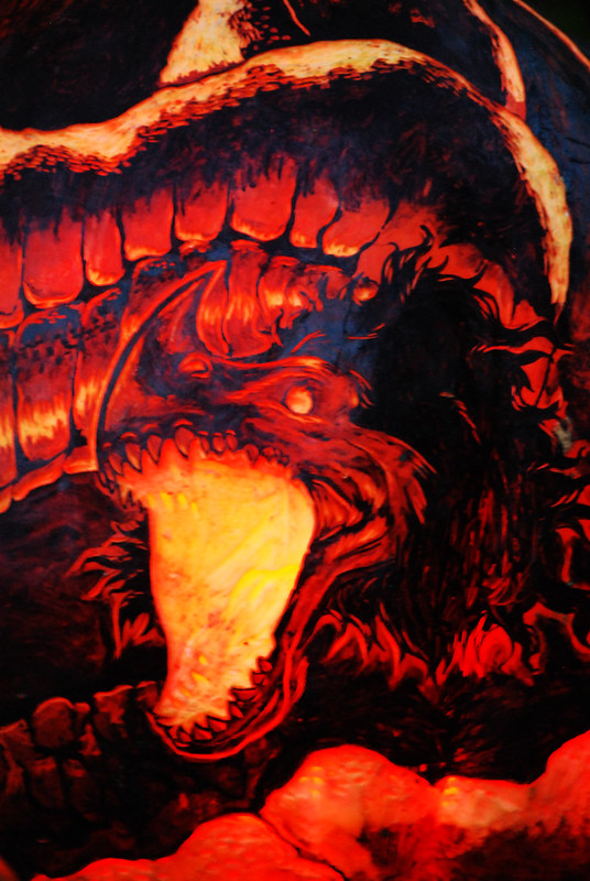 Smaug - The Hobbit Detail