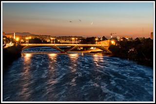 Puente de Santiago Zaragoza (Rio Ebro)