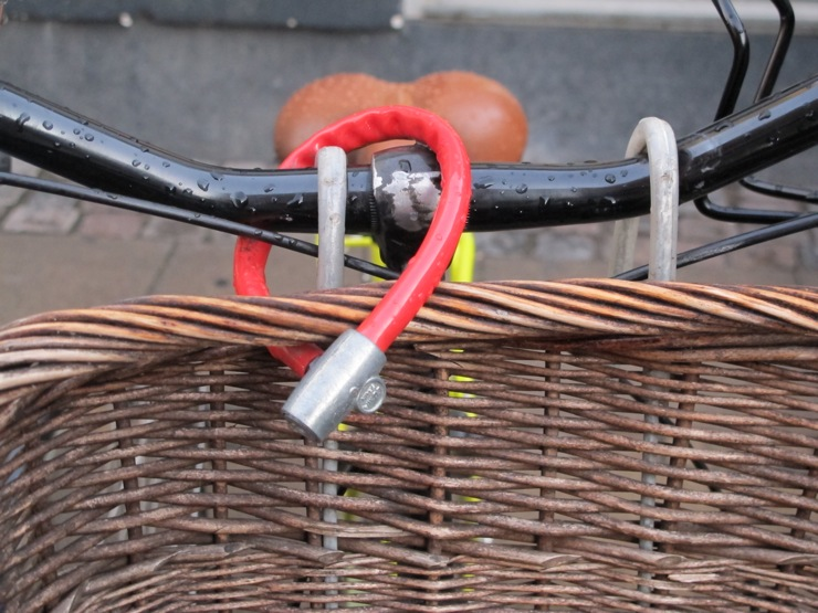 Mini basket lock