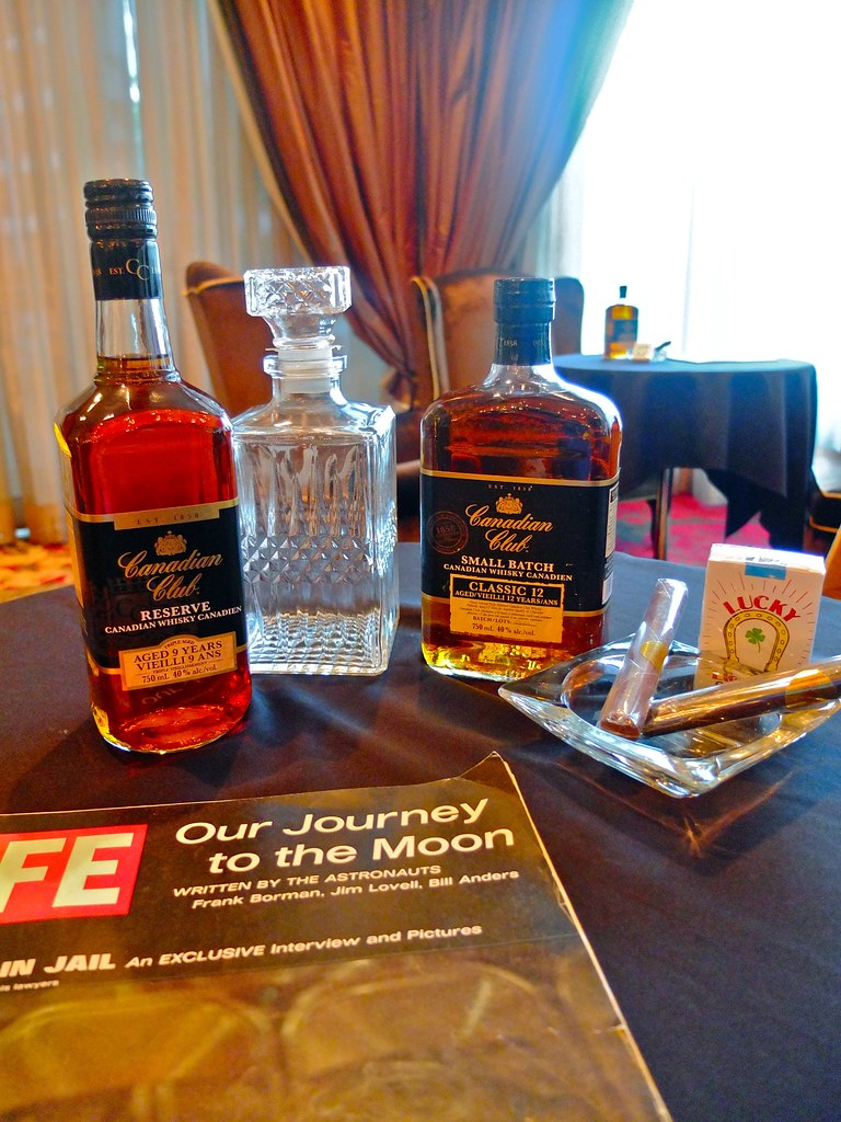 Canadian Club Mad Men Party | Terminal City Club, Vancouver