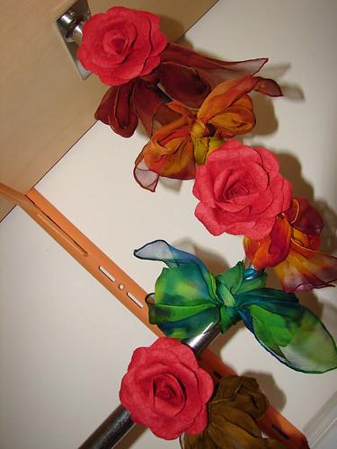"""Flores lindas da """"A Casa das Mãos Arteiras"""", da minha querida amiga Silvia Assumpção!!! by Atelier Mônica de Godoi"""