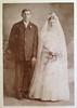 Carl Porubsky and Elizabeth Schulmeister Porubsky on their wedding day