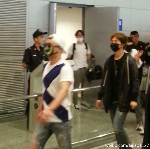 Big Bang - Shanghai Airport - 19jun2015 - lajiao1127 - 03