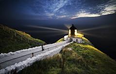 St Abbs Lighthouse, East Lothian, Scotland