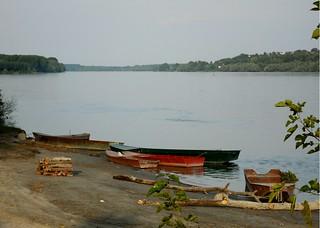 Čamac na Dunavu