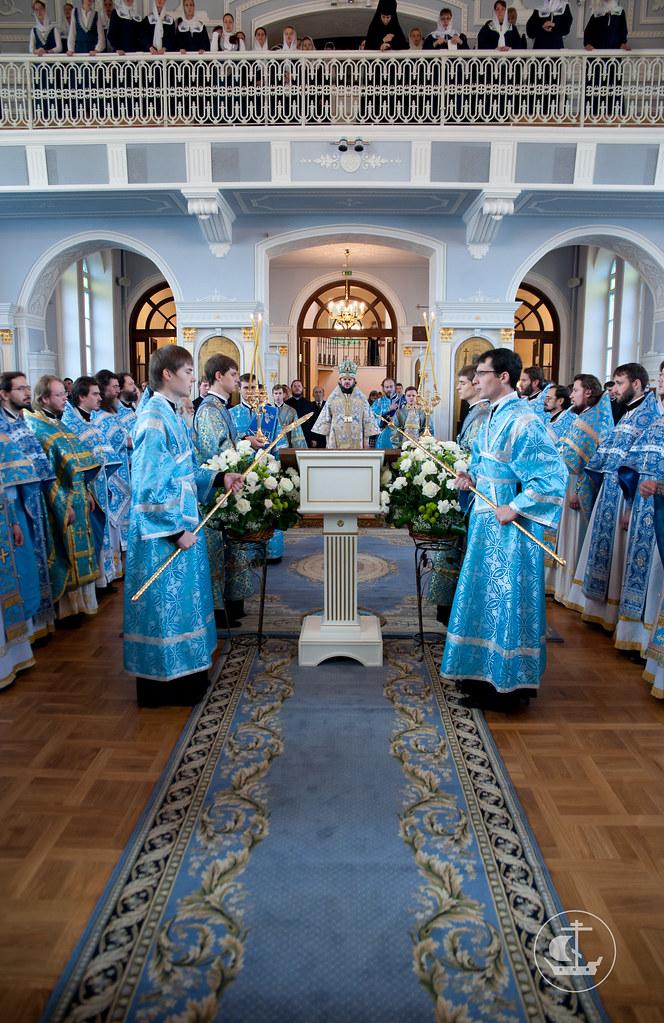 1 сентября 2012, Божественная литургия перед началом 2012-2013 учебного года