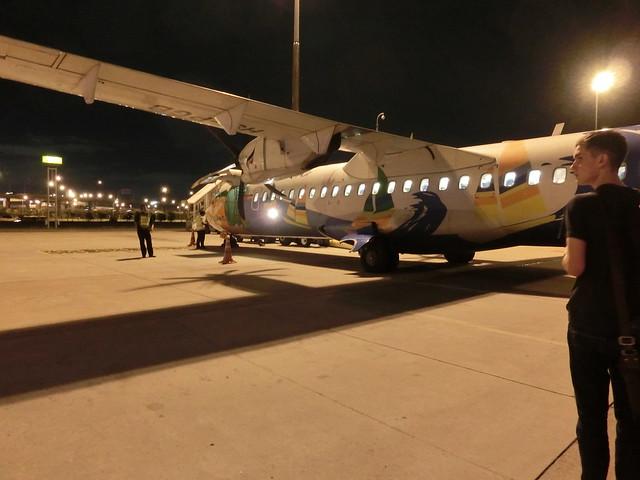 バンコク国際空港-国内線乗換え