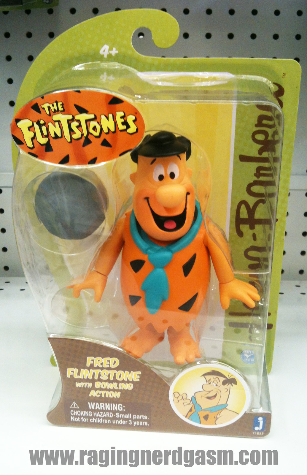 Hanna - Barberas's Large Action Figures Fred Flinstones by Jazwares 011