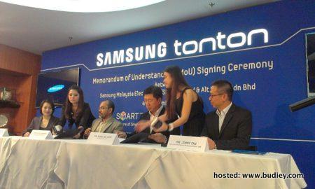 Tonton Bakal Ditonton di Smart TV Samsung
