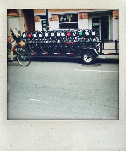 bikes in transit (a walk in Montreal)