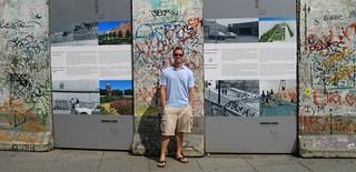 Josh Miller at Berlin Wall 2012