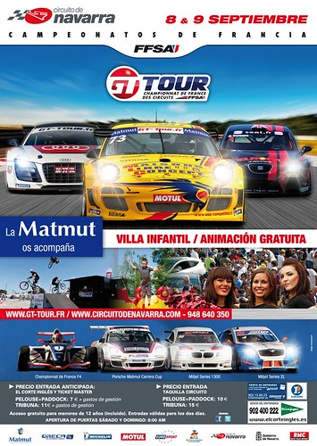 Campeonatos de Francia de Automovilismo, Navarra 2012