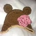 Teddy bear Ear flap hat