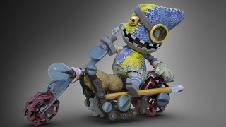 LittleBigPlanet Karting: Horde_Chopper