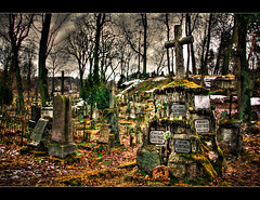 Old Polish cementary in Wilno (Lithuania)