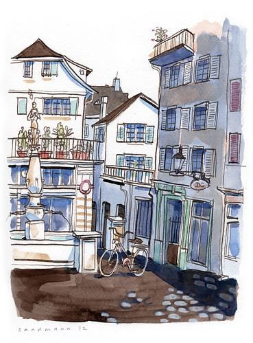 Zürich Niederdorf by Andre Sandmann