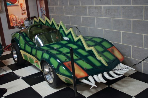 The Death Race 2000 Alligator Car