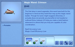 Magic Wand - Crimson