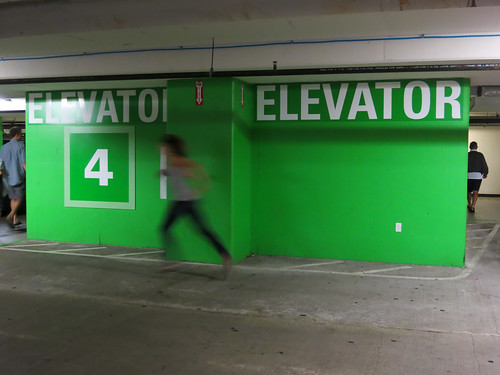 Parking Garage, Bellevue Washington, USA