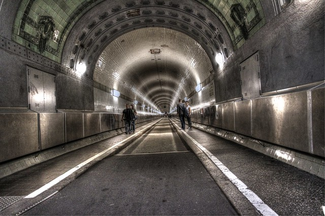Tunnel,Elbtunnel