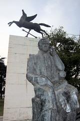 Buenos Aires - Recoleta: Plaza Rubén Darío - Canto a la Argentina