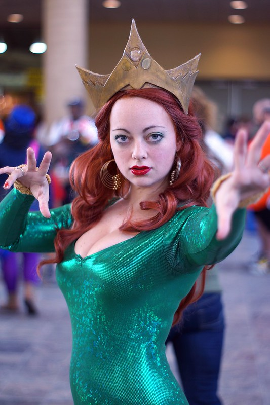 Mera Cosplay - Baltimore Comic-Con 2012