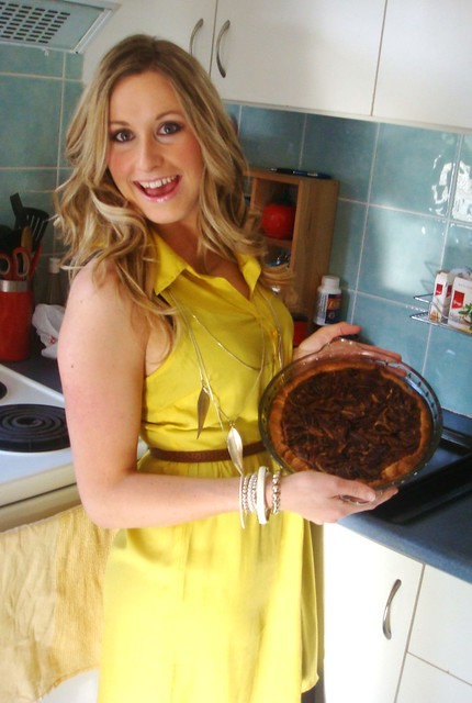 Me with a Pecan Pie