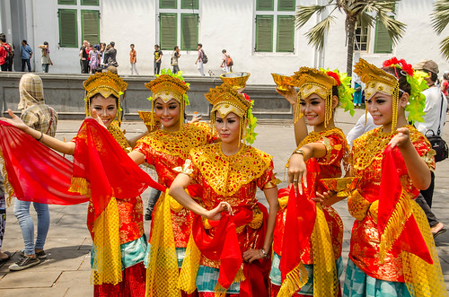 Indonesian Traditional Dancer