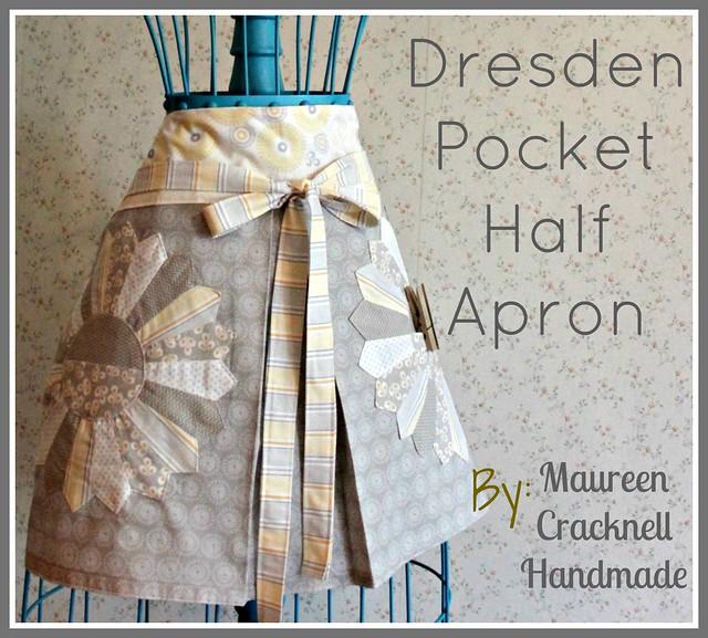 Dresden Pocket Half Apron
