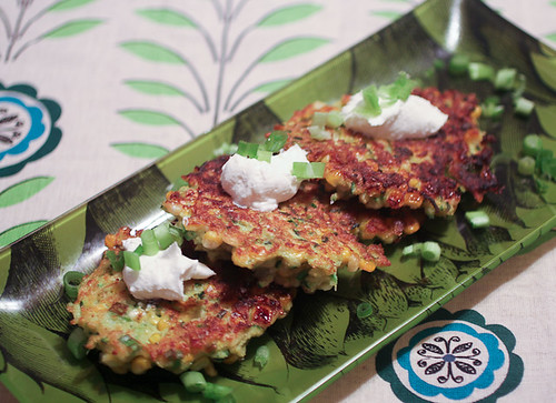 Zucchini and Corn Fritters-2