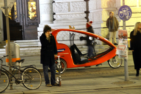 rickshaw tricycle