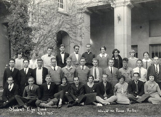 Members of the TSL editorial board in 1925