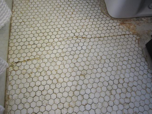 Update on the Hex Tile Floor » Decor Adventures