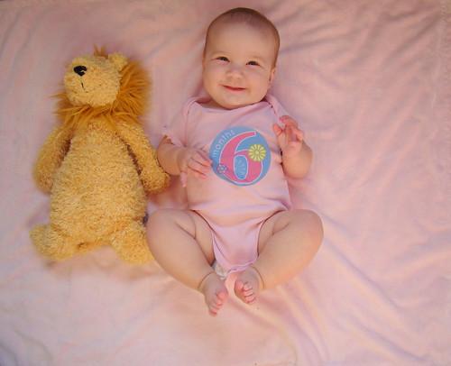 Lainey, six months