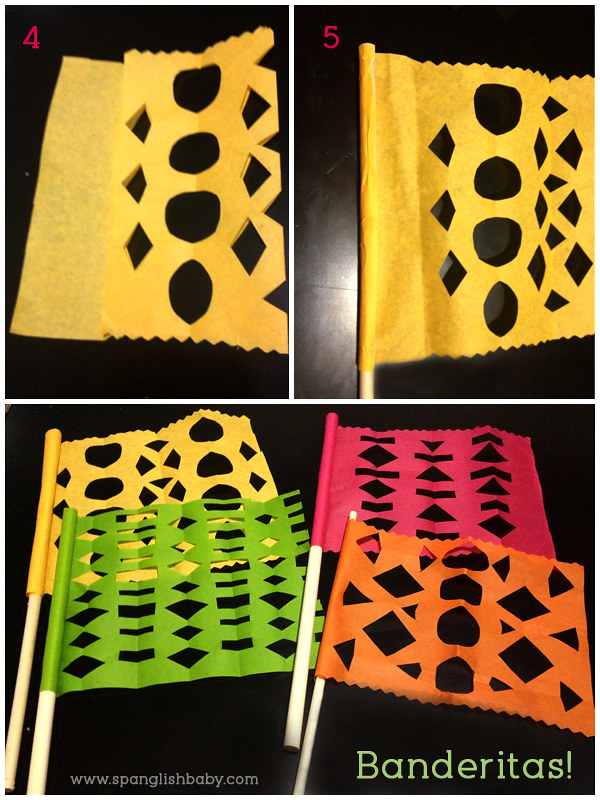 Papel Picado Flags Craft