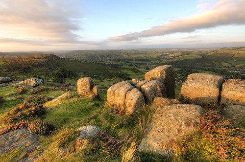 Curbar Edge Sunrise