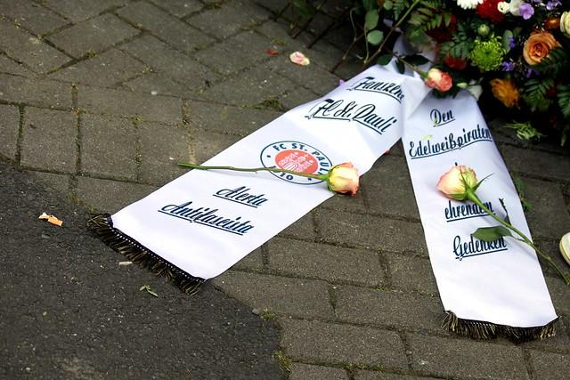St. Pauli- Fanszene gedenkt Edelweißpiraten